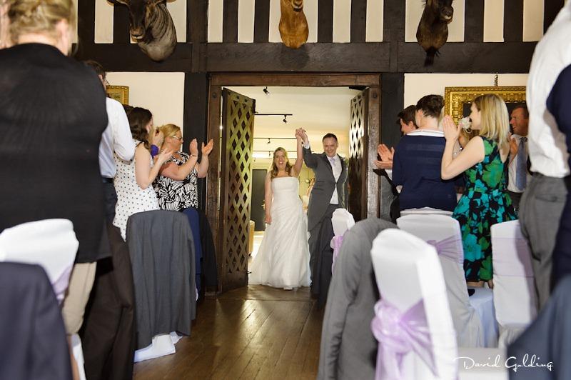 Michaela and Matt - Samlesbury Hall Wedding Photos