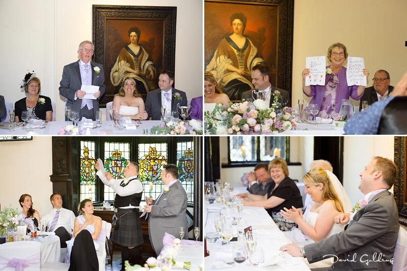 Michaela and Matt - Samlesbury Hall Wedding Photography