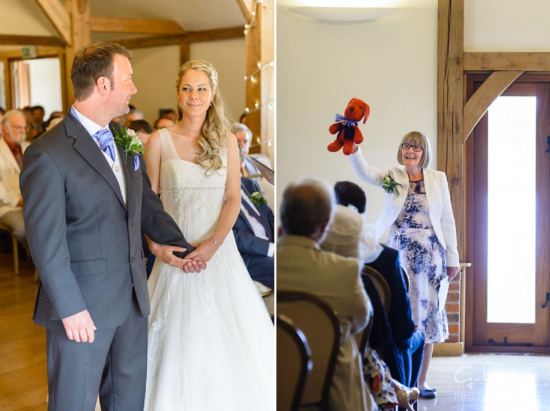Lizzie and Shaun - Sandhole Barn Wedding