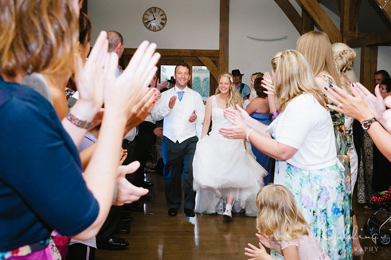 Lizzie and Shaun - Sandhole Oak Barn Wedding