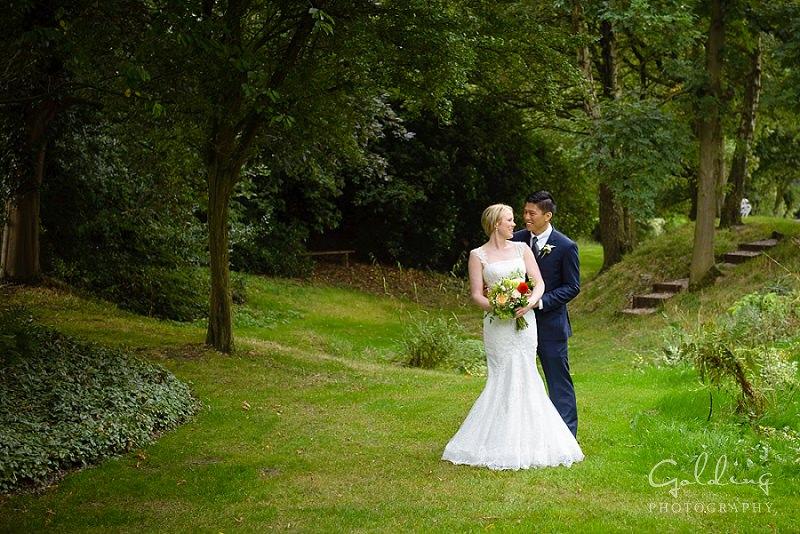 Jenna and Ben - Hilltop Country House Wedding Photos