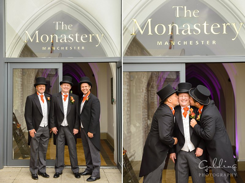 Sarah and Steve - The Monastery Manchester Wedding photos