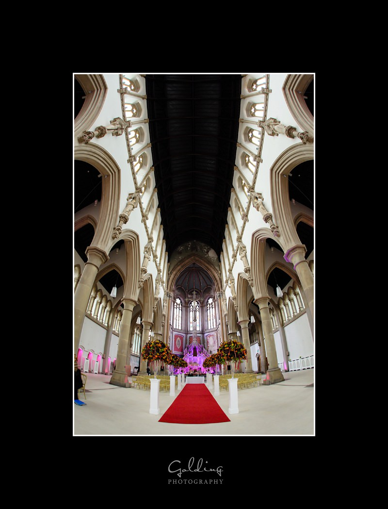 Sarah and Steve - The Monastery Manchester Weddings