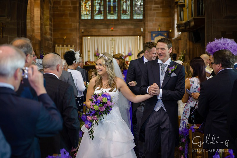 vicky and jonny - Nunsmere Hall wedding photography