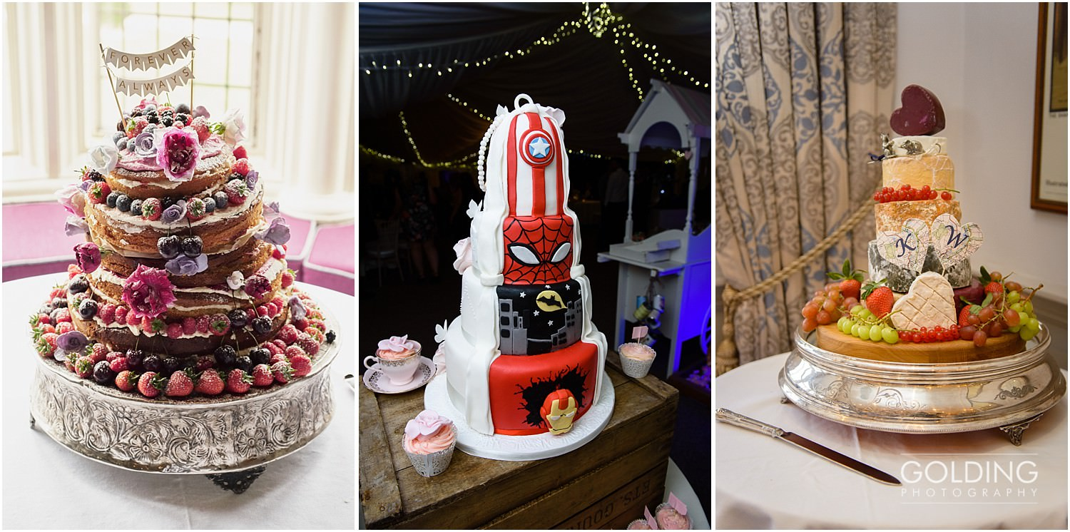 North Wales wedding cakes