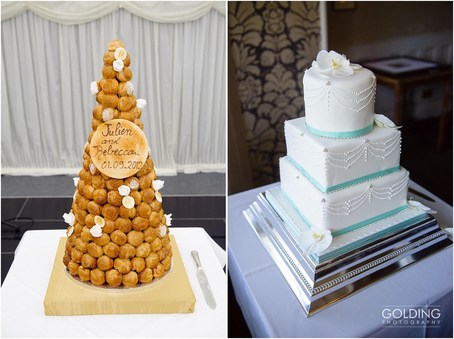 Wedding cakes in North Wales