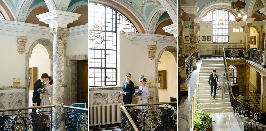 Lisa and David - Stockport Town Hall  Wedding Photography