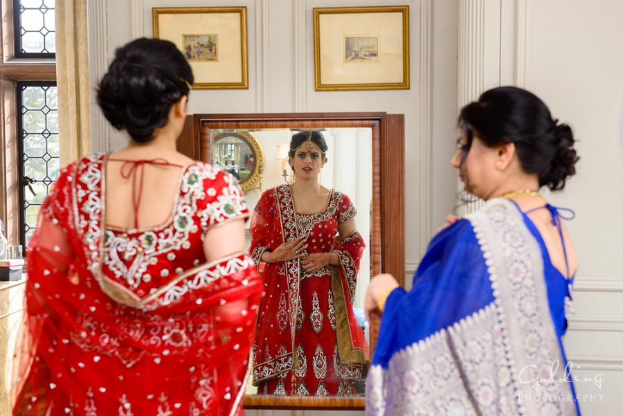 Neesha and Chris - Thornton Manor Hindu Wedding Photography