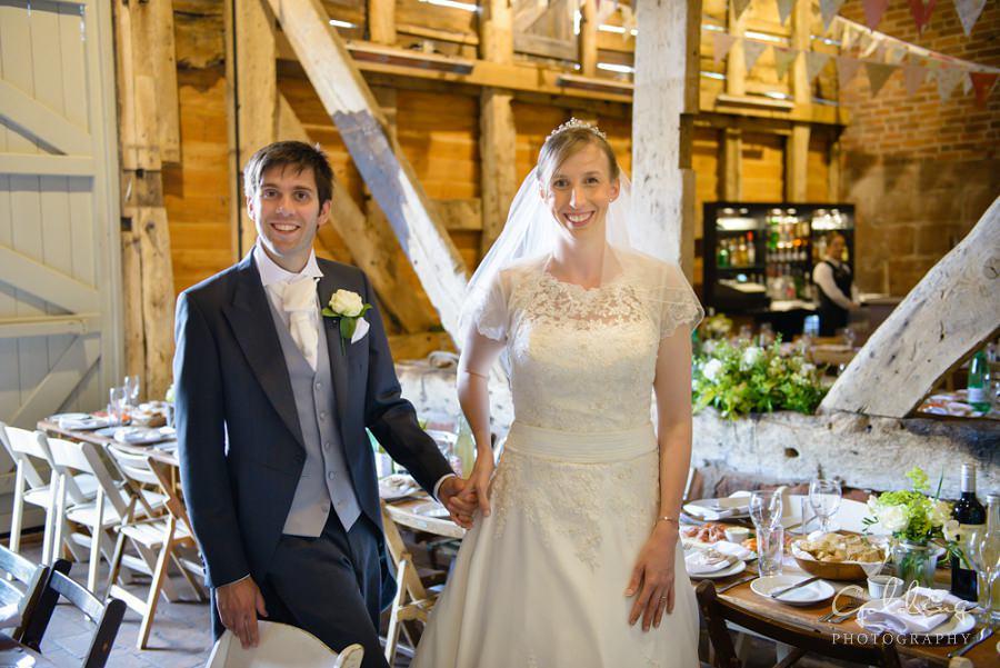 Alexia and Steve - Pimhill Barn Photographer
