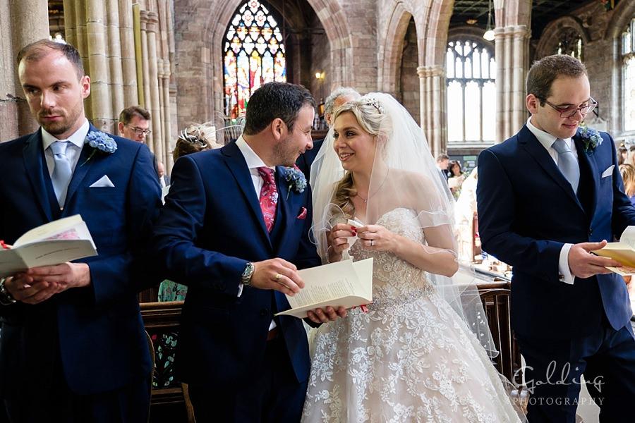 Emma and Mark - Malpas Wedding Photography
