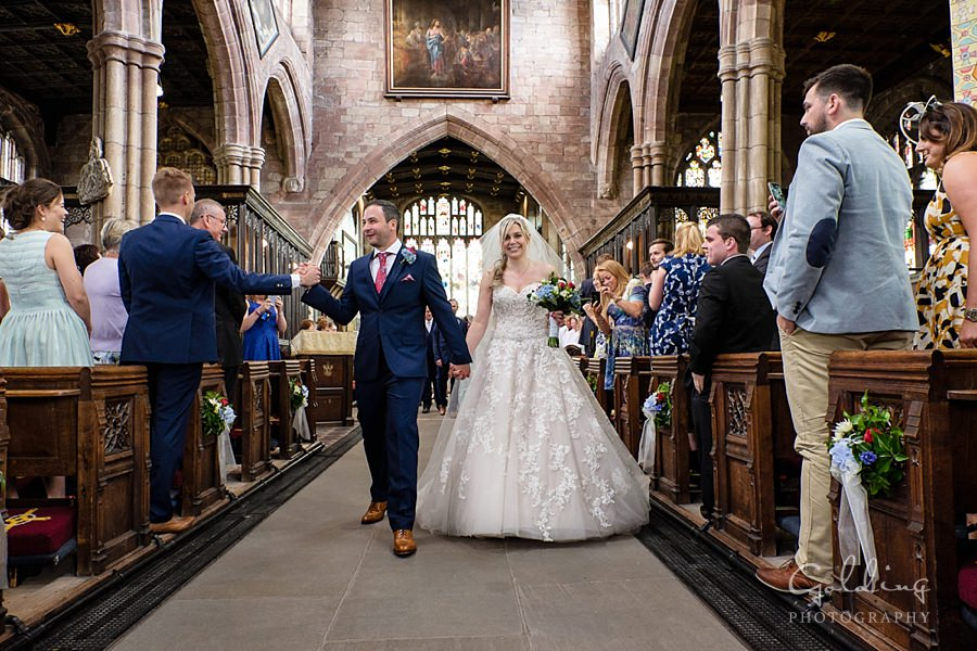 Emma and Mike - Malpas Wedding
