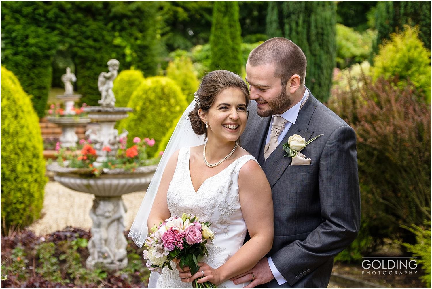 Marianne and Greg's wedding at Nunsmere Hall
