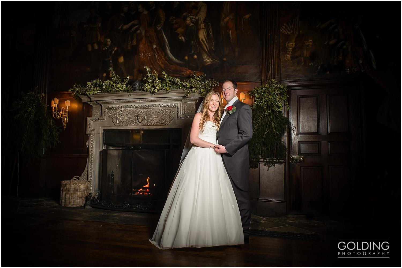 Stephanie and Martin's winter wedding at Adlington Hall