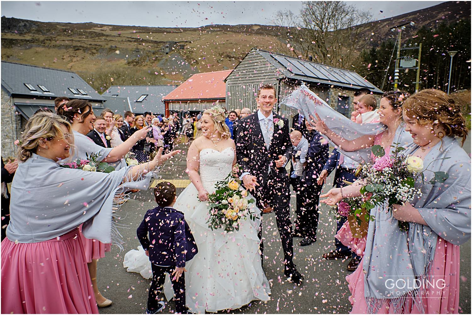 Nant Gwrtheyrn wedding photography - Sara and Will
