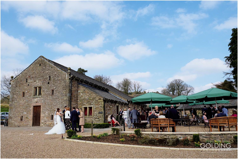 Browsholme Hall Tithe Barn Wedding