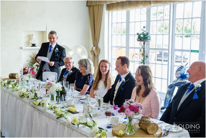 Rebecca and Daniel - Eriviat Hall Wedding - speeches