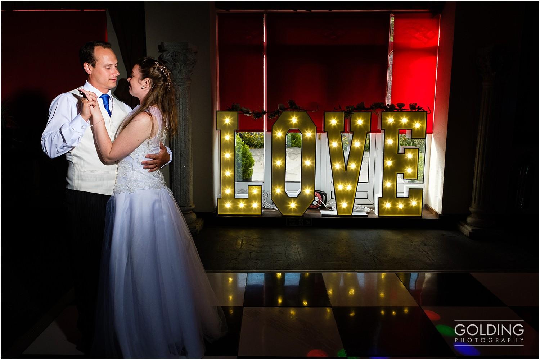 Rebecca and Daniel - Eriviat Hall Wedding - first dance